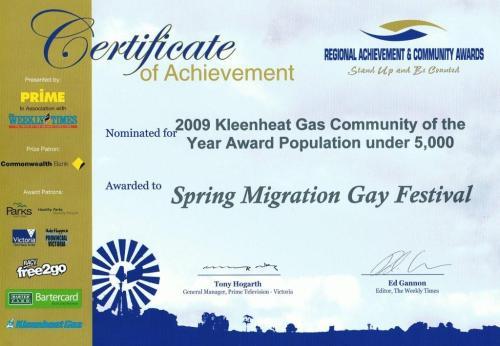 Spring Migration Festival 2009